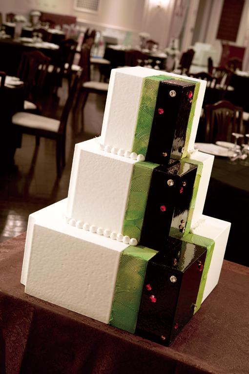 和風ウェディングケーキ